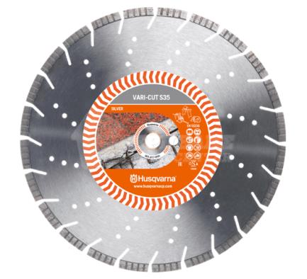 HUSQVARNA VARI-CUT S35 - Διαμαντόδισκος Πέτρας - Σκυροδέματος 350mm (587905801)