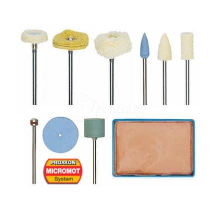 PROXXON MICROMOT 28285 - Σετ Στίλβωσης Μοντελισμού 10 τμχ