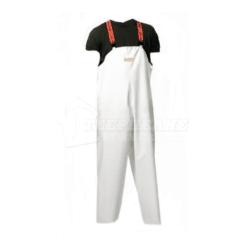 Παντελόνι Αδιάβροχο Λευκό με Τιράντα DISPAN 17PA
