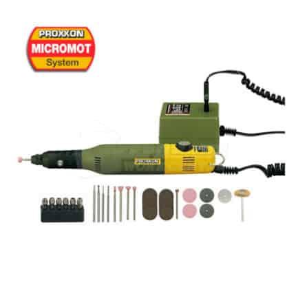 PROXXON MICROMOT 28515 - Δράπανο Μοντελισμού Υψηλής Ακρίβειας 50/E Σετ 34 Εξαρτημάτων