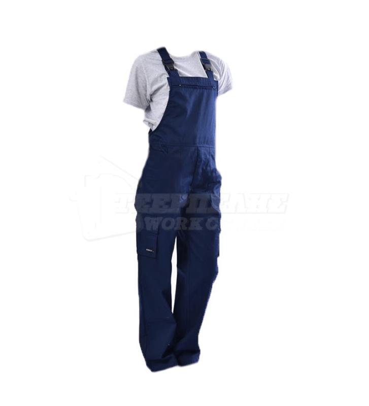 406f648113b4 Φόρμα Εργασίας με Τιράντα ERGOLINE (Μπλε)