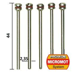 PROXXON 28815 - Άξονες για Δισκάκια Μοντελισμού 2.35mm Σετ 5τμχ