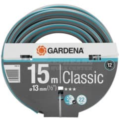 """Λάστιχο Ποτίσματος Classic 13mm 1/2"""" 15 m Gardena 18000-20"""