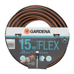 """Λάστιχο Ποτίσματος Flex 13mm 1/2"""" 15 m Gardena 18031-20"""
