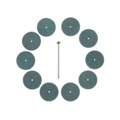PROXXON 28304 - Πέτρες Τροχίσματος Μοντελισμού Σιλικονούχου Καρβιδίου 22 mm Σετ 10 τμχ