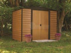 Αποθήκη Κήπου Μεταλλική Arrow Woodridge 8x6 (253x181x201cm)