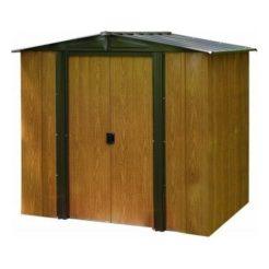Αποθήκη Κήπου Μεταλλική Arrow Woodlake 6x5 (194x151x177cm)