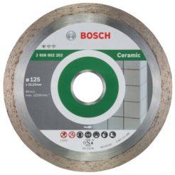 Διαμαντόδισκος Κοπής Πλακιδίων 125 mm BOSCH 2608602202