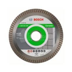 Διαμαντόδισκος Κοπής Κεραμικών 125 mm Best for Ceramic Extra-Clean Turbo BOSCH 2608602479