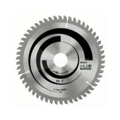 Πριονόδισκος Multi Material 190 x 30 mm 54 Δοντιών BOSCH 2608640509