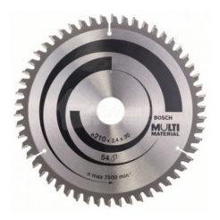 ΠριονόδισκοςMulti Material 210 x 30 mm 54 Δοντιών BOSCH 2608640511