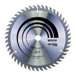 Πριονόδισκος Optiline Wood 184 x 16 mm 48 Δοντιών BOSCH 2608641181