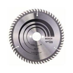 Πριονόδισκος Optiline Wood 190 x 30 mm 60 Δοντιών BOSCH 2608641188
