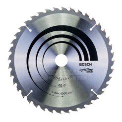 Πριονόδισκος Optiline Wood 254 x 30 mm 40 Δοντιών BOSCH 2608640438