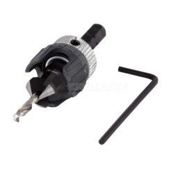 Τρυπάνι - Φρέζα Ρυθμιζόμενο 3.2 - 12 mm για Ξύλο- Πλαστικό Wolfcraft 2544000