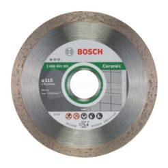 Διαμαντόδισκος Κοπής Πλακιδίων 115 mm BOSCH 2608602201