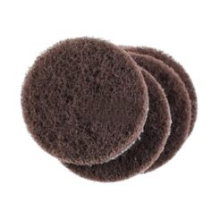 Proxxon 28554 Δίσκοι Λείανσης Μεσαίοι Velcro Fleece για LHW (LWS) Σετ 5 τμχ