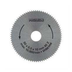 Proxxon 28011 Δίσκος Κοπής Καρβιδίου Ενισχυμένος 50 mm 80 Δοντιών