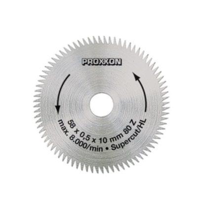 Proxxon 28014 Supercut - Δίσκος Κοπής 58 mm 80 Δοντιών