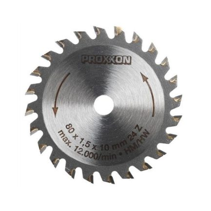 Proxxon 28734 Δίσκος Κοπής Καρβιδίου Βολφραμίου 80 mm 24 Δοντιών