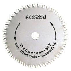 Proxxon 28731 Δίσκος Κοπής Supercut 85 mm 80 Δοντιών