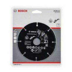BOSCH 2608623013 Δίσκος Κοπής Καρβιδίου Πολλαπλών Χρήσεων 125 mm