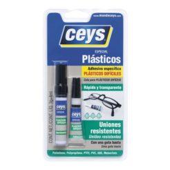 Κόλλα CEYS 2 Συστατικών για Δύσκολα Πλαστικά 3 gr + 4 ml