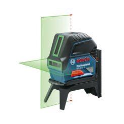 Bosch GCL 2-15 G Λέιζερ Γραμμών Πράσινης Δέσμης + RM 1 + BM 3 (#0601066J00)