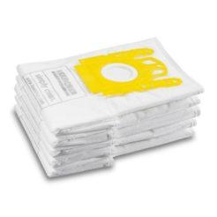 Karcher 6.904-329.0 Σακούλες Fleece για VC 6 Σετ 5 τμχ