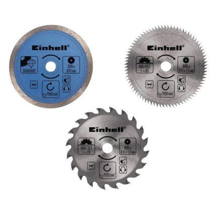 EINHELL 4502128 Δίσκοι Κοπής 85 x 10 mm για Δισκοπρίονο Mini Σετ 6 τμχ