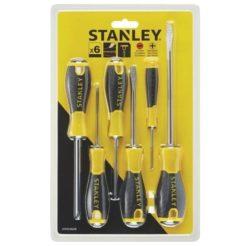 STANLEY STHT060208 Κατσαβίδια Essential Ισια-Σταυρού 6τμχ