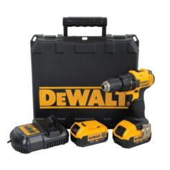 DEWALT DCD780M2 Δραπανοκατσάβιδο Κρουστικό 18V Li-Ion + 2 Μπαταρίες 4Ah + Φορτιστής + Βαλίτσα