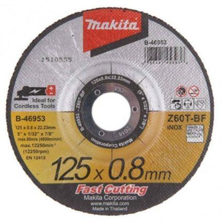 MAKITA B-46953 Δίσκος Κοπής Inox 125mm