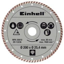 EINHELL 4301175 Διαμαντόδισκος Κοπής Πλακιδίων Turbo