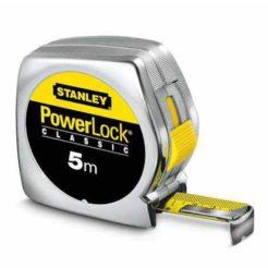 STANLEY 133194 Powerlock Μέτρο 5m x 19mm με κέλυφος ΑΒS