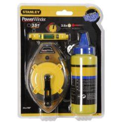STANLEY 047465 Powerwinder Νήμα Χάραξης-Αλφαδιάσματος με Κιμωλία