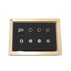 PROXXON 24154 Δακτύλιοι Κανονικοί Πολλαπλούς Βεληνεκούς για τον Τόρνο FD 150/E