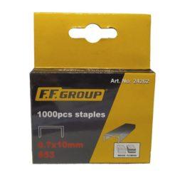 FF GROUP 24262 Δίχαλα Καρφωτικού 0,7x10mm S53 1000τμχ