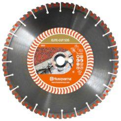 HUSQVARNA ELITE S35 Διαμαντόδισκος Κοπής Πέτρας και Οπλισμένου Σκυροδέματος 350mm (579811520)