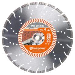 HUSQVARNA S35 VARI CUT Διαμαντόδισκος Κοπής Πέτρας και Οπλισμένου Σκυροδέματος 400mm (587905901)