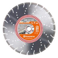 HUSQVARNA S45 VARI CUT Διαμαντόδισκος Κοπής Δομικών Υλικών400mm (579817430)