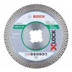 BOSCH 2608615135 Διαμαντόδισκος Κοπής Πλακιδίων Φ125 22,23mm X-Lock