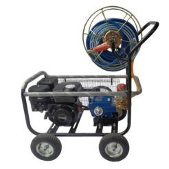 HYUNDAI HSP30/H PRO Ψεκαστικό Βενζίνης Τροχήλατο με Ανέμη και Λάστιχο 6,5hp (68D03-9)