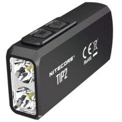 NITECORE TIP2 Black Φακός Led Επαναφορτιζόμενος 720 Lumens