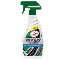TURTLE WAX 052877117 Γυαλιστικό Σπρέιi Ελαστικών Wet N Black 500ml