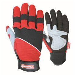 BENMANN Γάντια Δερμάτινα με Velcro (#77302), (#77360), (#77361)