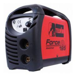 TELWIN FORCE 195 Ηλεκτροκόλληση Inverter 170A MMA TIG με Καλώδια και Βαλίτσα (815859)