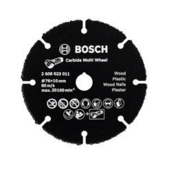 BOSCH 2608623011 Δίσκος Κοπής Καρβιδίου 76mm