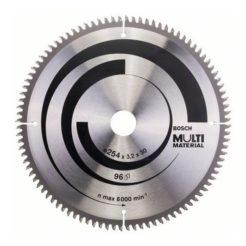 Πριονόδισκος Multi Material 254 x 30 mm 96 Δοντιών BOSCH 2608640451