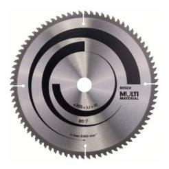 Πριονόδισκος Multi Material 305 x 30 mm 80 Δοντιών BOSCH 2608640452